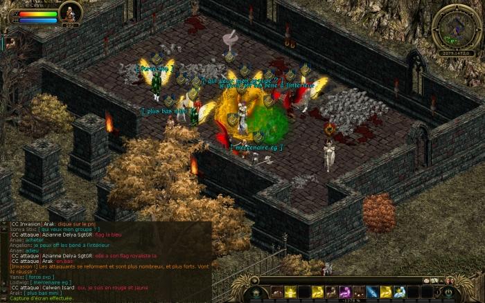 Les attaquants, alliance entre artherkiens, neeryens et rédempteurs, se préparent à descendre dans la forteresse-souterraine...