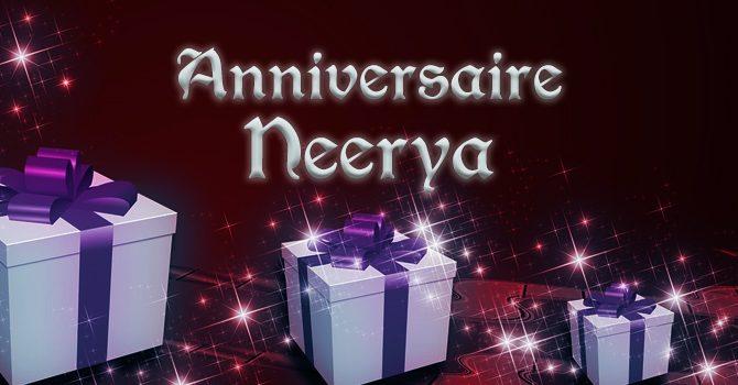 Anniversaire de T4C Neerya