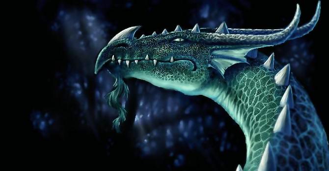 Dragon de profil