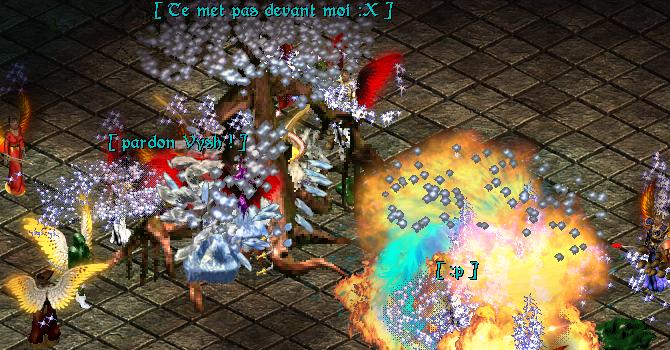 Combat en groupe dans la Tour Blanche du Draconis Sanctum