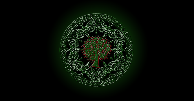 Représentation de la faction Druide.
